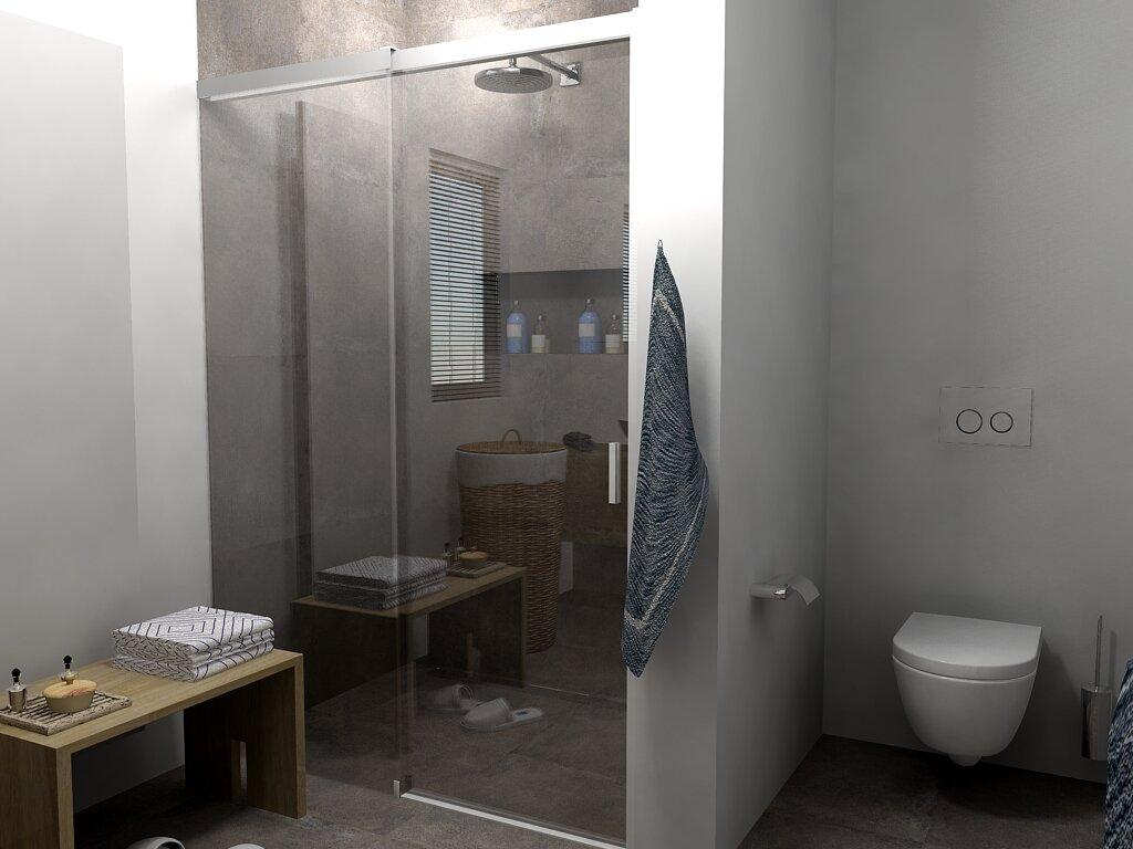 Badkamer design proces badkamer ontwerp bij nieuwbouw en for Badkamer tekening maken