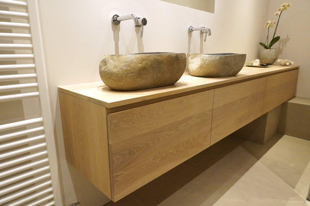 Badkamermeubel eiken loungeset 2017 - Foto badkamer meubels ...