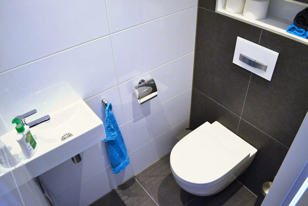 Toilet badkamer ontwerp bij nieuwbouw en renovatie amersfoort