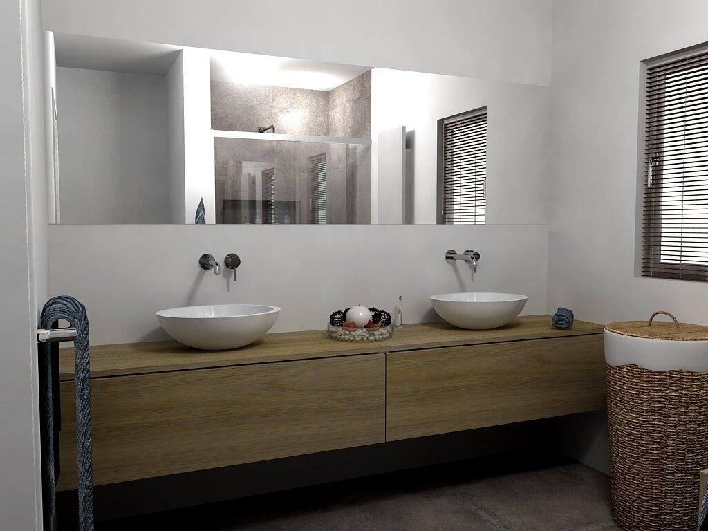Foto 39 s badkamer ontwerp bij nieuwbouw en renovatie amersfoort vathorst nijkerk - Ontwerp badkamer model ...